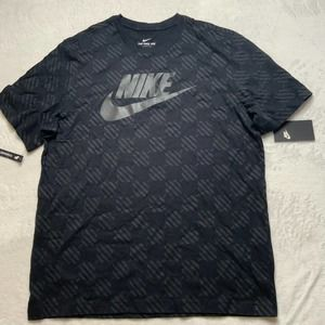 MENS NIKE AIR CHECKERED SPORTSWEAR NSW T-SHIRT